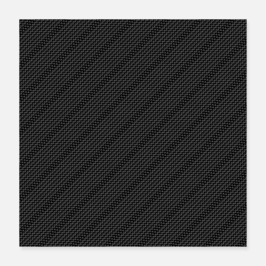 Carbon Carbon Fiber Texture Pattern Gift - Poster