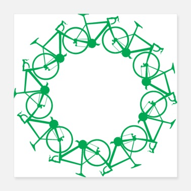 Road Transport ROAD BIKE PATTERNS - Poster