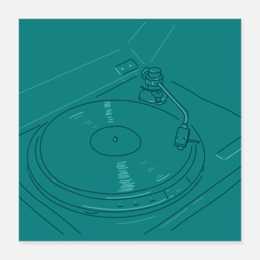 Turn Turns 33 rpm - Poster
