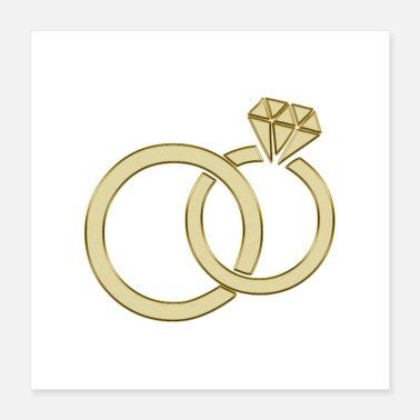 Ring wedding rings - Poster