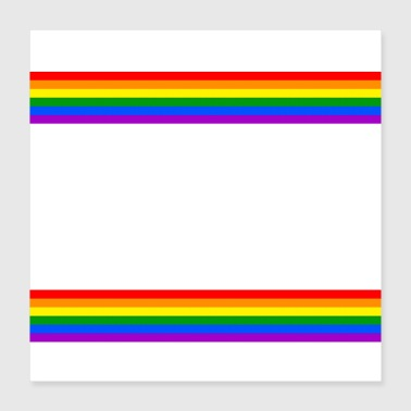 Communism Life and Lesbians Let Gay Pride Month LGBT - Poster 40x40 cm