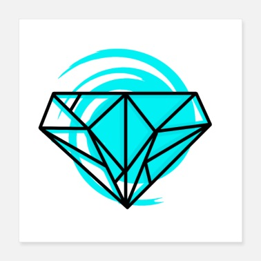 Diamanter diamant - Poster