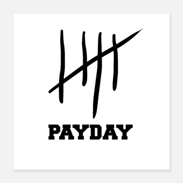 Teen payday - Poster 40x40 cm