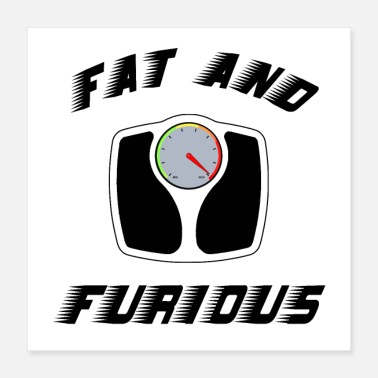 Fast FAT AND FURIOUS - Jeux de Mots - Francois Ville - Poster