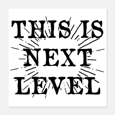 Clan THIS IS NEXT LEVEL (poster) - Poster 40x40 cm