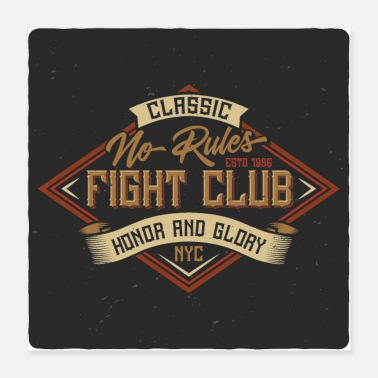 Boxer Fight Club No Rules - Poster