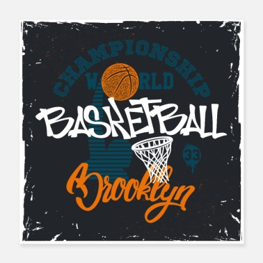 Brooklyn Brooklyn Basketball - Poster
