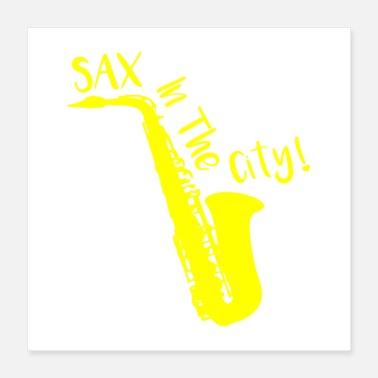 Messing SAX IN DER STADT! - Poster