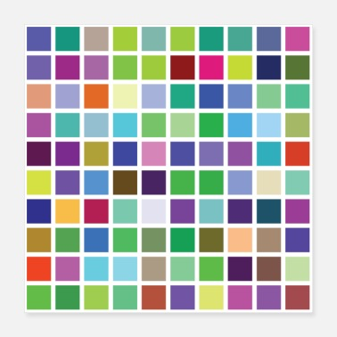 Colourful large colour pallet many colours! - Poster