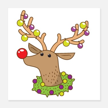 Nose Rudoph the red nosed reindeer - Poster