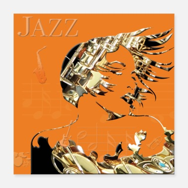 To Post Jazz Poster - Poster