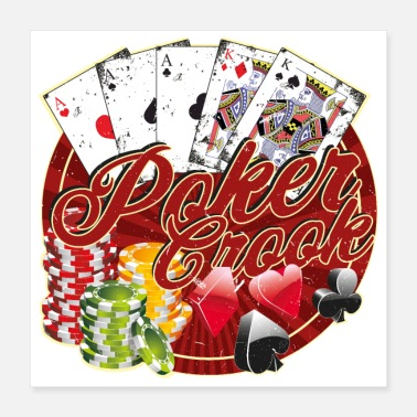 House Poker Crook Full House - Juliste