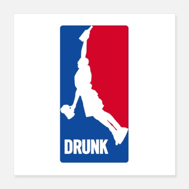Humor BASKETBALL-DRUNK - Poster
