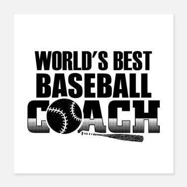 Baseball Bat Baseball Trainer | Sports baseball bat gift - Poster