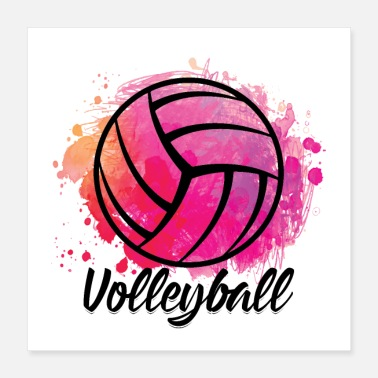 Player Volleyball Volleyball player sports player gifts - Poster