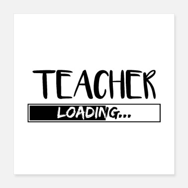 Class Teacher Teacher teacher Profession school teacher gifts - Poster