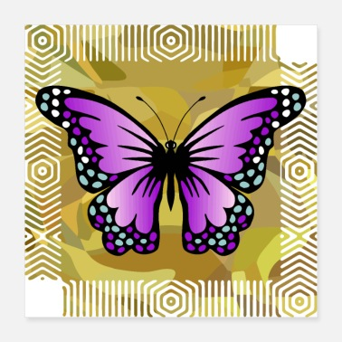 Fauna Schmetterling - Poster
