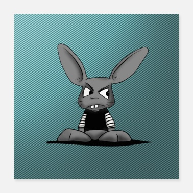 House Tapis de souris Bunny Face Protection - Poster