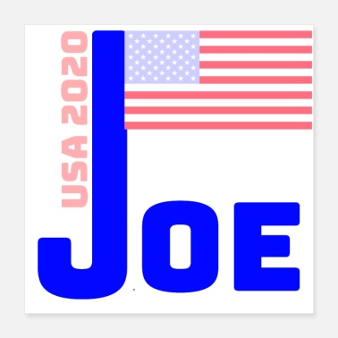 Demokraatti joe - Juliste