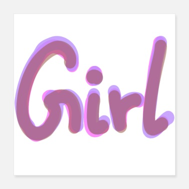 Girls girl - Poster