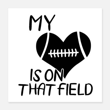 Football Team American football | Coach team player gift - Poster