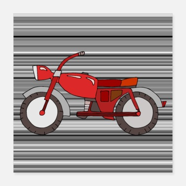 Motorcycle Motorcycle - Poster