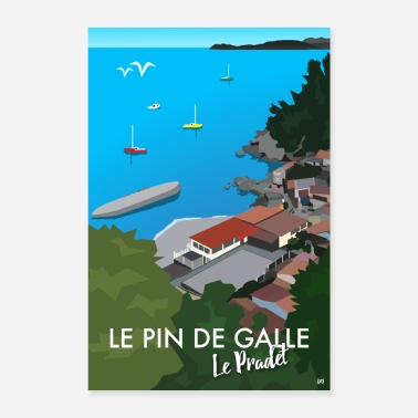 The Pin of Galle - Le Pradet - Poster