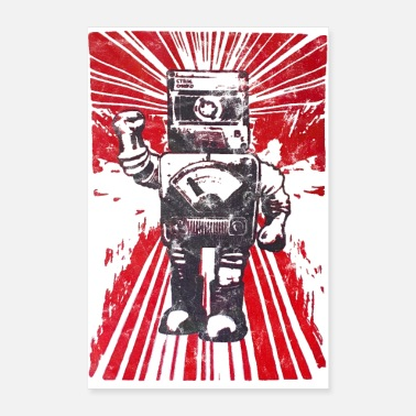 Technology Robot Revolution - Poster 24 x 35 (60x90 cm)