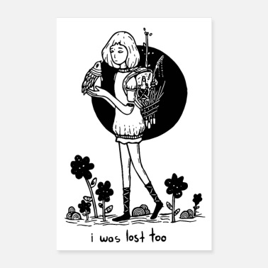 Girls I Was Lost Too Poster - Poster