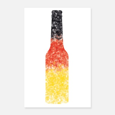 Beer Belly Germany beer - Poster 24 x 35 (60x90 cm)