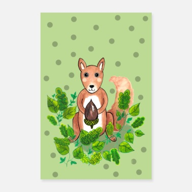 Squirrel squirrel - Poster