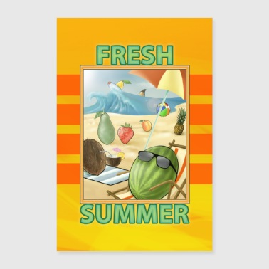 Fruit Summer - Poster 24 x 35 (60x90 cm)