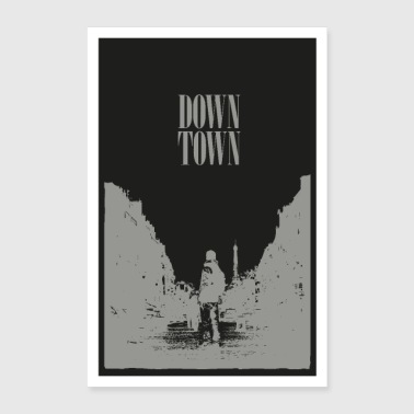 Downtown-Post - Poster 60x90 cm
