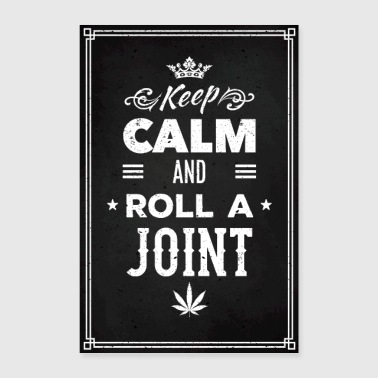 KIFFER POSTER JOINT grappig cadeau - Poster 60x90 cm