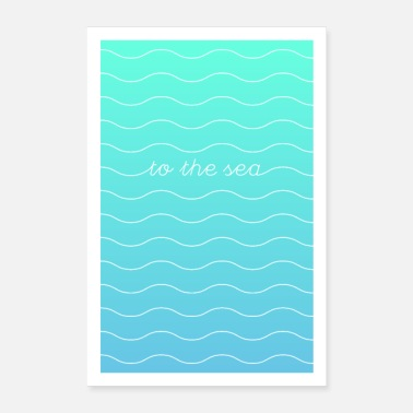 Sea To The Sea - Poster 24 x 35 (60x90 cm)