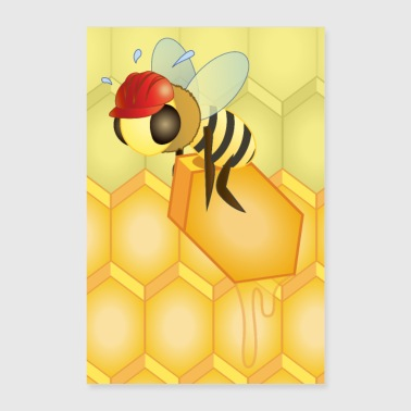 Work in progress, sister bee (No Text) - Poster 24 x 35 (60x90 cm)