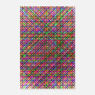 Animo Colorful Grid - Poster