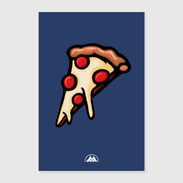 pizza - Poster 60 x 90 cm