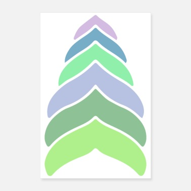 Emblem colorful - Poster 24 x 35 (60x90 cm)