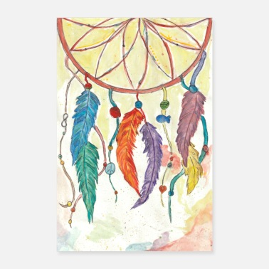 Rar dream catcher - Poster 60x90 cm