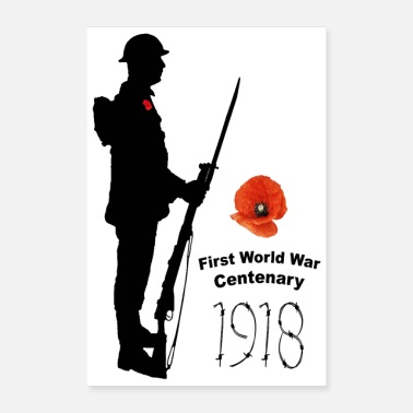 1918 Centenary First World War 1918 - Poster