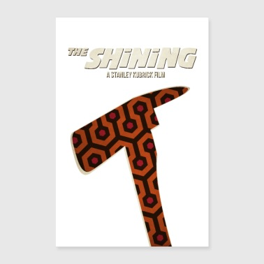 Cult The Shining - Stephen King - Stanley Kubrick - Poster 24 x 35 (60x90 cm)