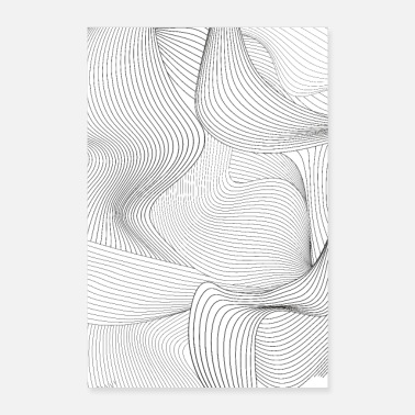 Homme Lineart 1.0 - Poster 60 x 90 cm