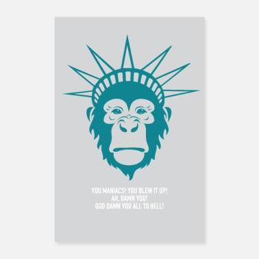 Planet Planet of the Apes - Poster 24 x 35 (60x90 cm)