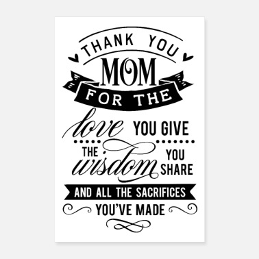 Thank You Thank you mom - Poster