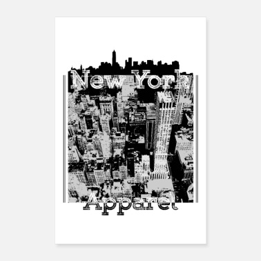New Age New York Apparel - Poster