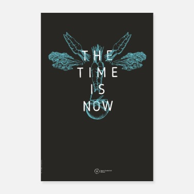 Fleisch Poster The Time Is Now (Cow Edition) - Poster