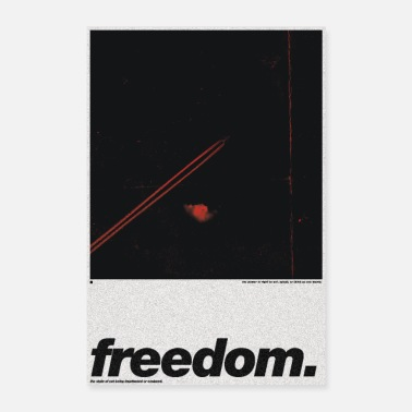 Poste freedom Poster - Poster