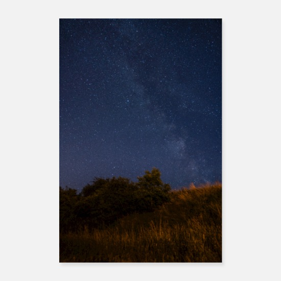Ast Posters - Milky Way in view - Posters white