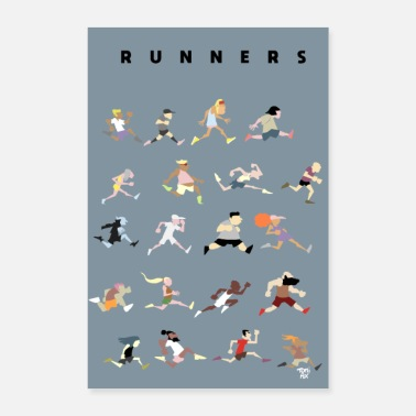 Run Runners - Poster